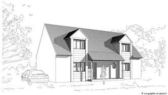dessin maison architecte