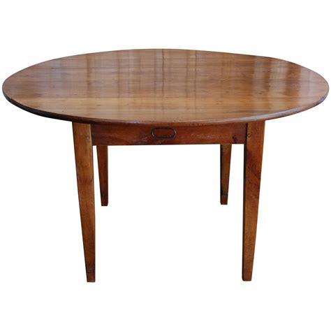 walnut drop leaf table 19th century french walnut round drop leaf table at 1stdibs
