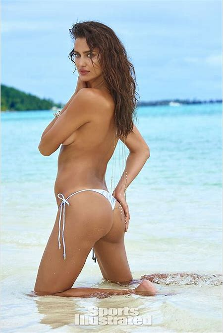 Irina Shayk Topless for Sports Illustrated Swimsuit Issue 2016