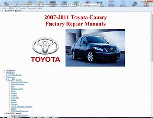Toyota Camry Brake System Diagram Manual