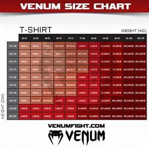 Rash Guard Size Chart Venum Kaos T Shirt Fight Street Fight Black Ufc Mma Bjj