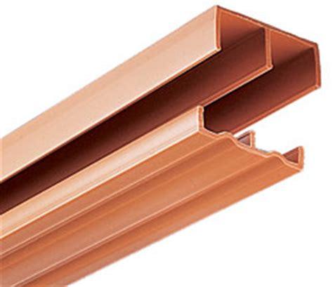 Plastic Sliding Cabinet Door Track by Knape And Vogt P2419tan48 48 Quot 1219mm Plastic Track Set