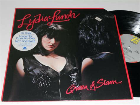 LYDIA LUNCH NM Queen Of Siam PROMO DJ Buddah ZEA 33006 ...