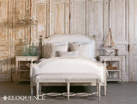 eloquence furniture eloquence beds dauphine house weathered white