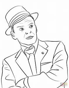 Disegno Di Frank Sinatra Da Colorare