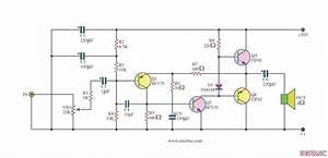 Power Amplifier Otl Cassette Radio Booster By Tip41 Tip42