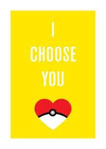 Pokemon I Choose You Card