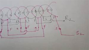 How To Draw Table Fan Rewinding Diagram
