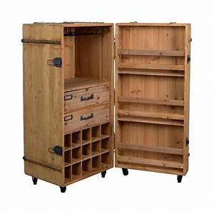 Petit Meuble Bar : meuble bar vin vintage lico dutchbone ~ Teatrodelosmanantiales.com Idées de Décoration