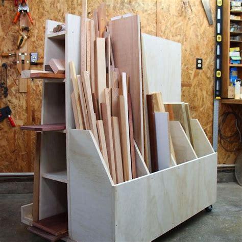 images  lumber storage carts  pinterest