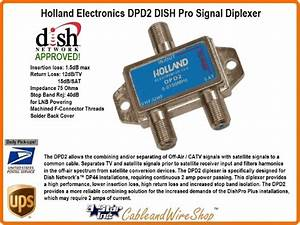 Dish Pro Network Approved Satellite Tv Diplexer Combiner