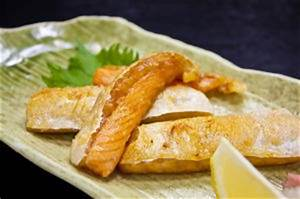 Sake no Harasuyaki (Grilled Salmon Belly) | Japanese Food ...