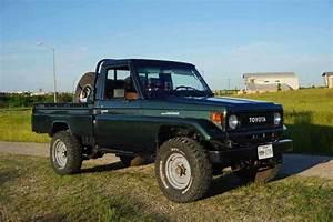 1989 Toyota Land Cruiser Pickup Manual Fj75 For Sale