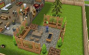 Sims Freeplay Housing  First Patio