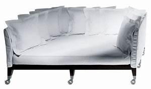 Tiefe Couch : canap droit neoz avec assise profonde l 206 cm eb ne ~ Pilothousefishingboats.com Haus und Dekorationen