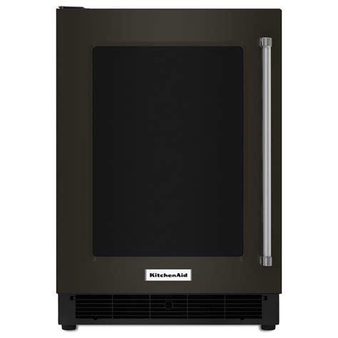 Kitchenaid Beverage Fridge by Kitchenaid 24 Quot Undercounter Refrigerator With Glass Door