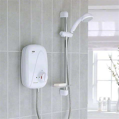 mira vigour thermostatic shower mira vigour thermostatic power shower white chrome