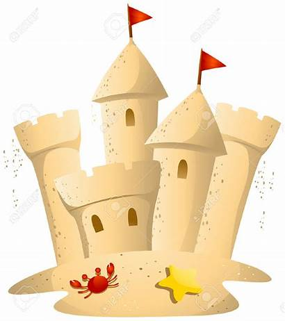 Sand Castle Clip Clipart Sandcastle Beach Sculpture