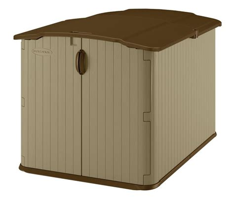 Suncast Glidetop Storage Shed by The Top 10 Bike Storage Sheds Zacs Garden