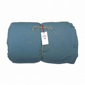 Housse de couette coton bleu sarcelle oona pour chambre for Luminaire chambre enfant avec housse de couette bleu canard et jaune