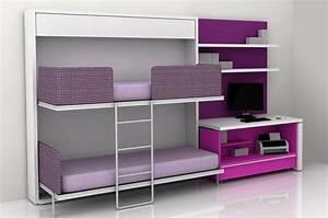 Lit Superposé Ado : quelques astuces pour d corer une chambre pour deux filles ~ Farleysfitness.com Idées de Décoration