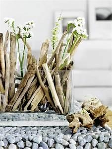Kleine Weiße Vasen : basteln mit treibholz diy deko mit erinnerungen an den ~ Michelbontemps.com Haus und Dekorationen