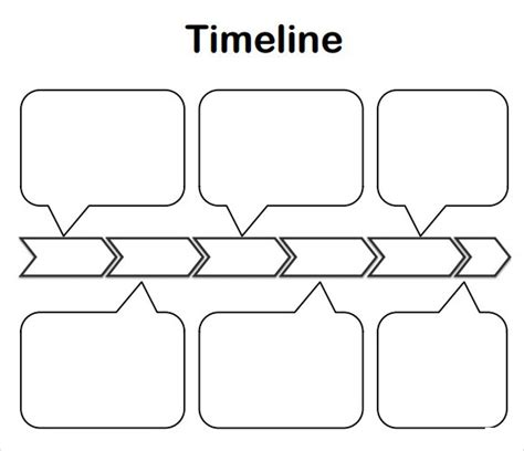 sample timelines  kids  word sample templates