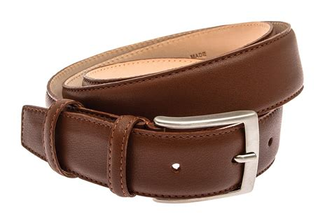 Italian Cowhide Leather by Crafted Brown Italian Cowhide Leather S Belt