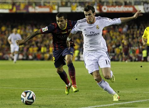 real madrid   barcelona gareth bales solo goal decides