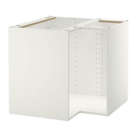 element bas de cuisine metod structure élément bas d 39 angle blanc ikea