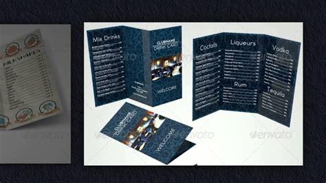 getraenkekarten vorlagen design fuer ihre getraenkekarte