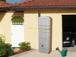 Recupérateur Eau De Pluie : r cup rateur d 39 eau de pluie horizontal ~ Premium-room.com Idées de Décoration