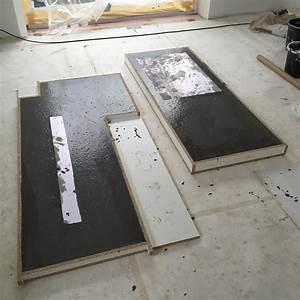 Arbeitsplatte Küche Beton : arbeitsplatten aus beton diy bigmeatlove beton in 2019 ~ Watch28wear.com Haus und Dekorationen