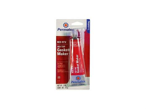 Permatex 81160 Red High-temp Rtv Silicone Gasket Maker 3