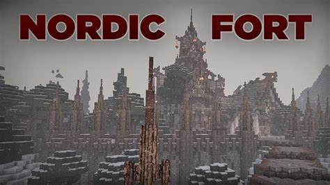 minecraft nordic fort youtube