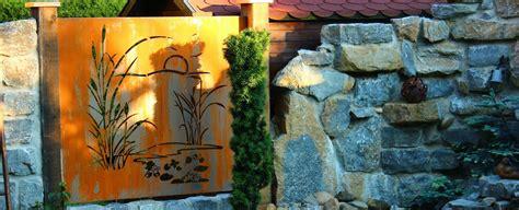 Sichtschutz Rost Garten by Sichtschutz Aus Metall Ganz Individuell Tiko Metalldesign
