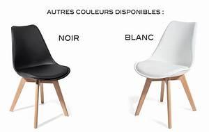 4 chaises BREKKA Noir design contemporain nordique scandinave super qualité Achat / Vente