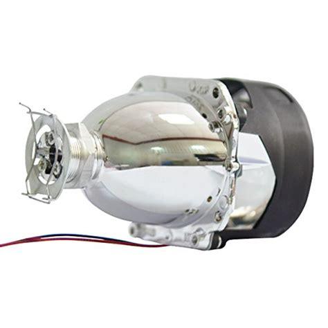 nilight 174 2 5 quot mini hid bixenon projector lens for h1 bulb