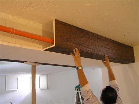 finte travi per soffitto travi finto legno in polistirolo e poliuretano prezzi