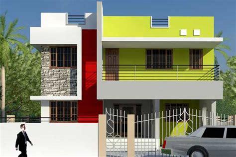 contoh warna cat rumah minimalis tak depan desain
