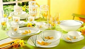 Service De Vaisselle : la vaisselle luminarc visions classiques et couleurs ~ Voncanada.com Idées de Décoration
