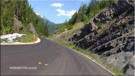 Motorcycle Ride Twisty Roads Mountains British Columbia