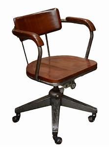 Chaise Bureau Industriel : chaise de bureau industriel ~ Teatrodelosmanantiales.com Idées de Décoration