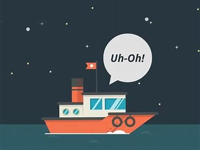 Boat Discovery Sanction Tugboat Giphy Boats Dismissal