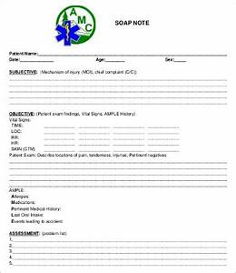 free soap note template - soap note template 10 free word pdf documents download