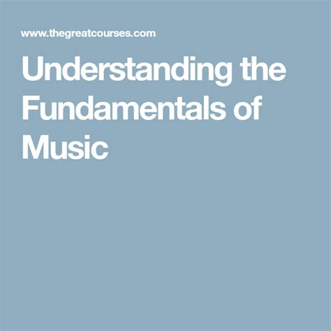 Enhanced offline versions of our animated lessons. Understanding the Fundamentals of Music   Learn music theory, Fundamental, Understanding