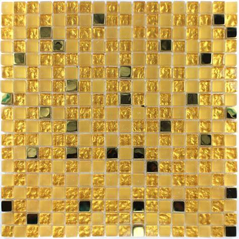 glas mosaikfliesen edelstahl gold
