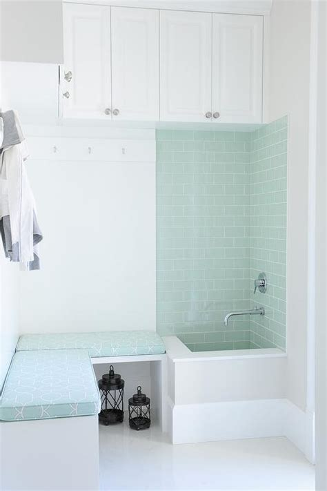 subway tile shower bench mudroom shower design ideas