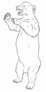 94+ [ Standing Bear Coloring Page ] - Polar Bear Printable ...