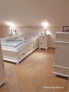 Landhaus Betten Holz : ein wei es bett wie aus dem m rchen betten bed bedroom bedroomideas ~ Markanthonyermac.com Haus und Dekorationen